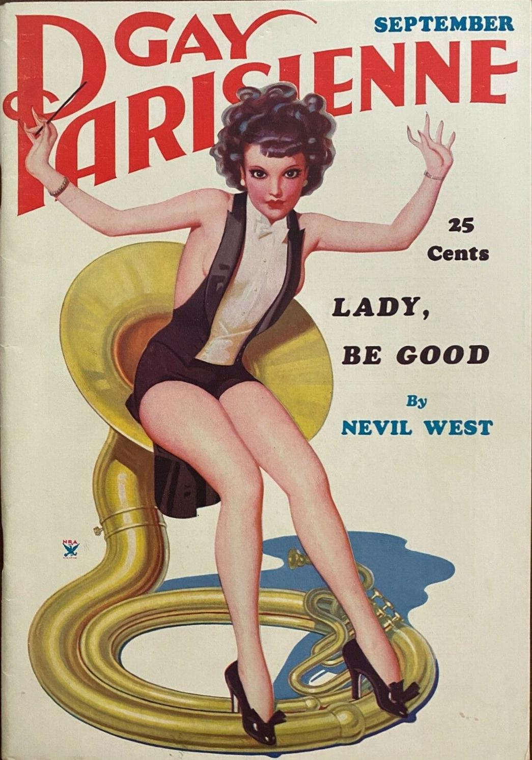 Gay Parisienne - September 1935